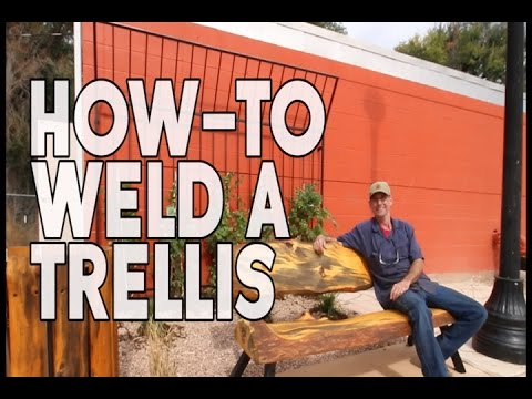 How-to Weld a Trellis