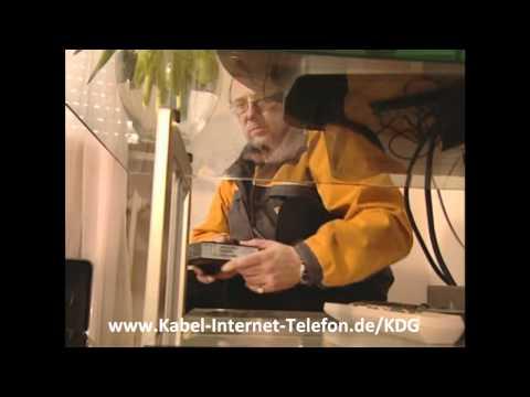 Kabel Deutschland Telefon, Internet und Fernsehen / TV aus einer Hand (Werbevideo/ Werbespot)