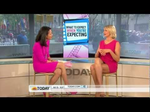 Cameron Diaz - great legs in tiny skirt & Ann Curry - Today Show