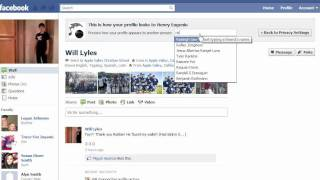 How To Make Your Friend's List Private On Facebook