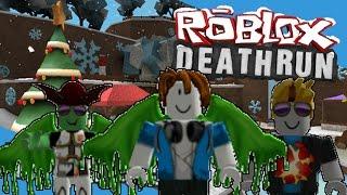 "Death Run Winter #1 ""We really suck?! xD ""/w Dunism & Hitzeed | ROBLOX Indonesia"