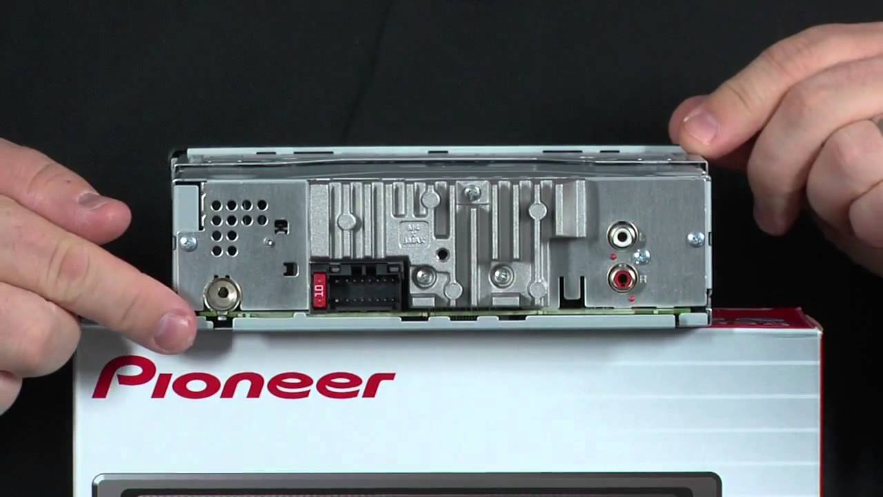 Estereo para Auto Pioneer DEH1300MP Receptor de CD con