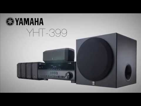 Yamaha yht399 home theater system overview video youtube for Yamaha home stereo systems