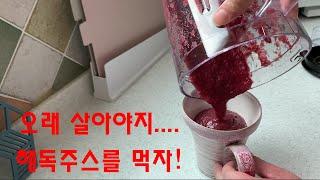 양배추, 브로콜리, 당근, 토마토 해독주스(마녀스프) …