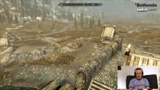 Bethesda Plays: Skyrim Special Edition