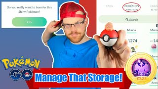 POKEMON OVERFLOW! How To Manage Your Storage in POKEMON GO in 2021!