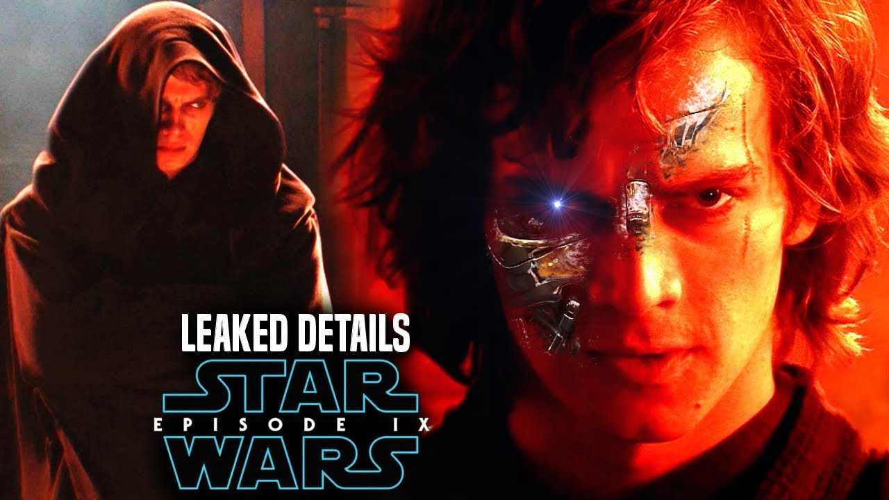 Star Wars 9 Leak Kylo Ren Nightmare Of Anakin Skywalker S