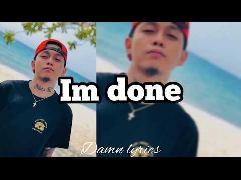 IM DONE - SKUSTA CLEE NEW SONG (LYRICS VIDEO)