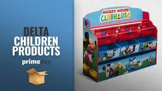 Save Big On Delta Children Products Prime Day 2018: Delta Children Deluxe Book & Toy Organizer,