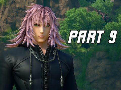 Kingdom Hearts 3 Walkthrough Part 9 Marluxia Kh3 Let S Play