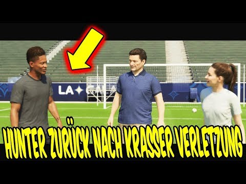 FIFA 18 THE JOURNEY 2 - HUNTER ist zurück nach KRASSER VERLETZUNG! ⚽🔥 FifaGaming Hunter #18