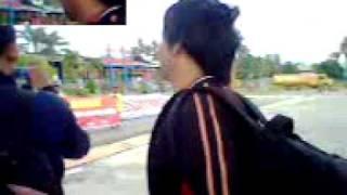 Papua, tari selamat datang oleh mahasiswa uncen