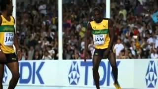 19 32 Usain Bolt wins the 200m after winning gold in the 100m , blake takes silver , Weir Bronze