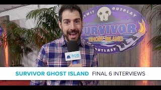 Survivor Ghost Island Finale Interviews with Final 6