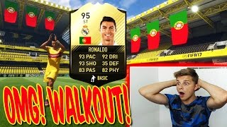 FIFA 17: 95 IF RONALDO PACK OPENING!! 😜😝 OMG! KRANKEN WALKOUT GEZOGEN!! - ULTIMATE TEAM (DEUTSCH)