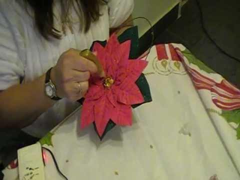 Como hago la flor federal o estrella federal en goma eva youtube - Flores sencillas de goma eva ...