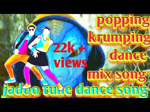 Koi // mil // gya // jadoo // song // krumping // popping // robotic // mix // by L.R.dance remix