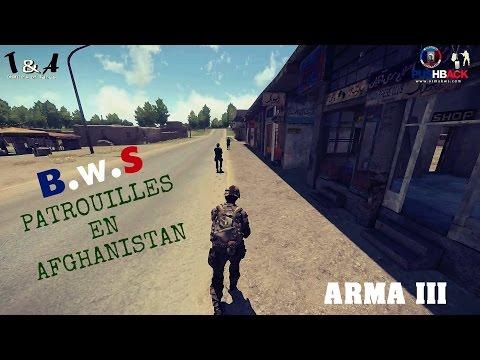 Arma 3 | Push Back | Patrouille en Afghanistan | Blastcore | Task force radio | JSRS | AGM