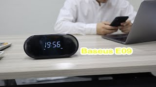 Baseus E09 wireless speaker 4 in 1 wireless bluetooth 4.1 white