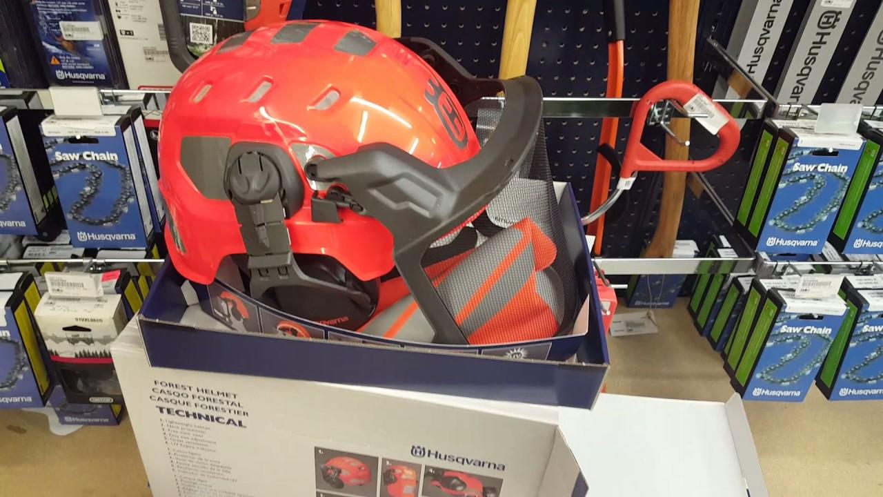 ea098f53 Husqvarna new for 2017 Technical Forest Helmet - YouTube