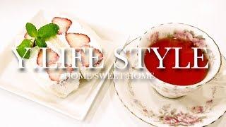 【おやつ作り】美味しくて可愛いイチゴのフルーツサンド♡