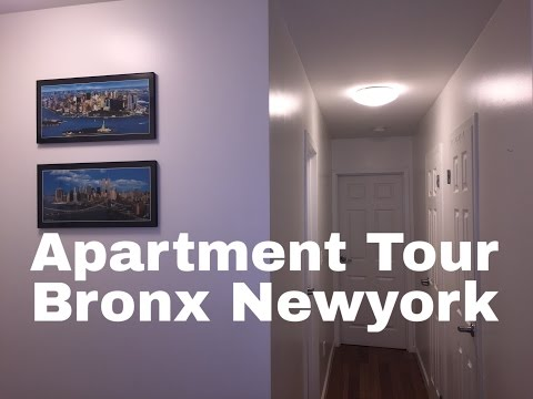 APARTMENT TOUR IN BRONX NEWYORK (2016)