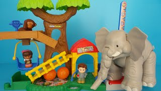 Unboxing Toy Animal Zoo from FISHER-PRICE LITTLE PEOPLE
