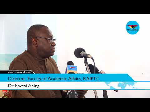 Dr Kwesi Aning's full presentation on doomsday prophecies in Ghana