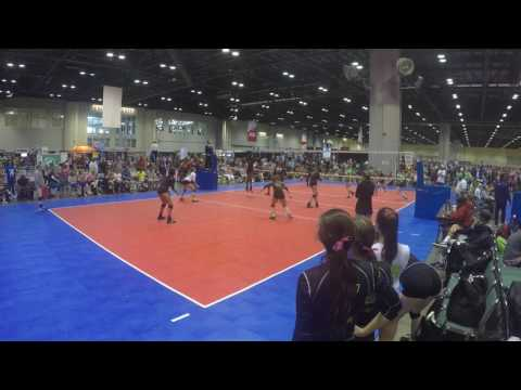 AIJA MINES 2017 AAU NATIONALS TOURNAMENT ORLANDO, FL OH/OP, CLASS OF 2018