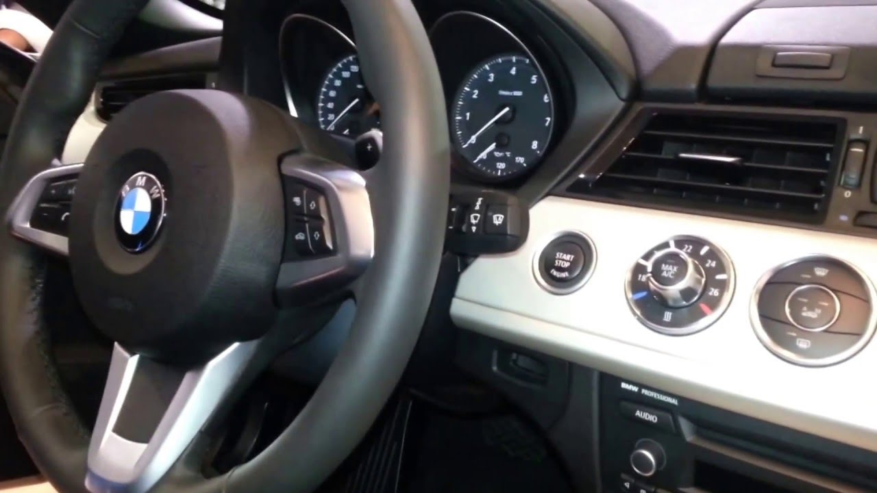 Interior Bmw Z4 Sdrive 20i 2014 Versi 243 N Para Colombia Full