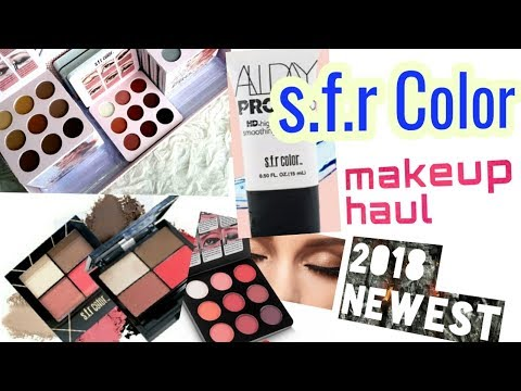 *New* S.f.r Color makeup haul 99-240 rs only. | lovebeautybee