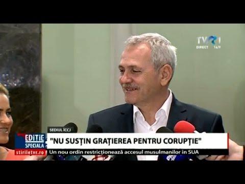 Liviu Dragnea: Nu susţin graţierea pentru fapte de corupţie