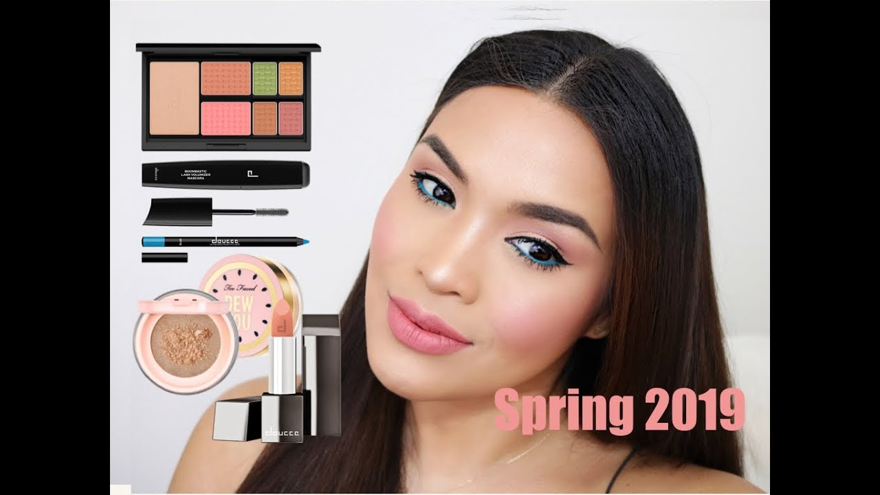88e30336b68 SPRING MAKEUP - DOUCCE BLUE EYELINER - La Fleur Set - Too Faced Dew You  Setting Powder