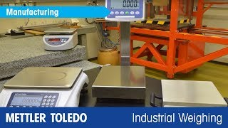 Scales for Quality Control and Piece Counting - Product Video