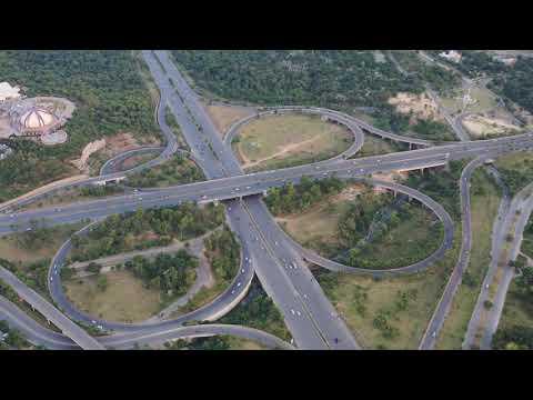 Aerial View of Zero Point Interchange