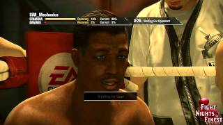 Fight Night Champion Online Match - Sir I will not walk Into your punches - Rage Quitter