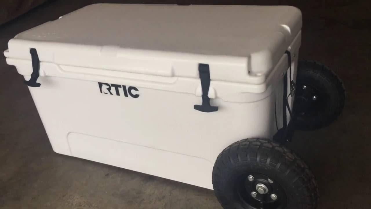 Rtic 65 Cooler Wheel Kit Youtube