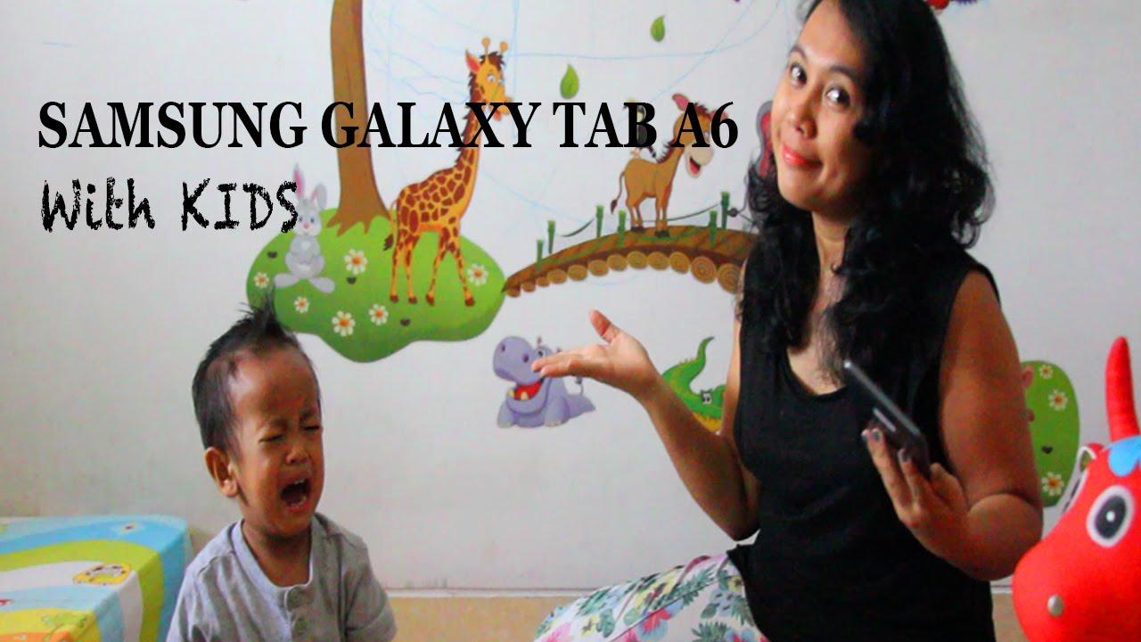 Kid's Mode di Samsung Galaxy Tab A6