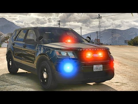 GTA 5 MODS LSPDFR 869 - UNMARKED HIGHWAY PATROL!!! (GTA 5 REAL LIFE PC MOD)