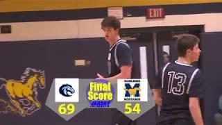CBA 69 Marlboro 54 | Josh Cohen 24 points, 17 rebounds