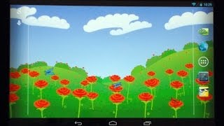 Цветы в поле, Розы