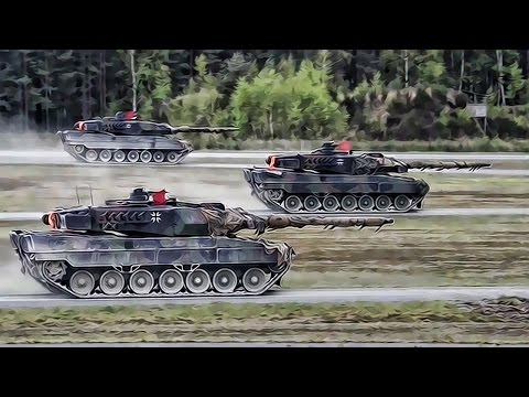 Strong Europe Tank Competition 2017 • Video Of All 6 Nations
