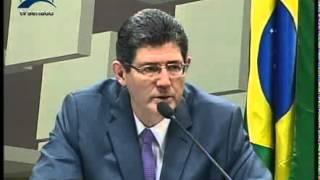 Jornalismo - Joaquim Levy fala de reequilíbrio da economia e ajuste fiscal