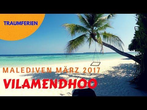 Malediven Vilamendhoo Island Resort & Spa März 2017