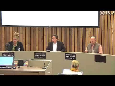 02-16, 2018 Pennington County Board of Commissioners Special Meeting Mining Ordinance OA 17-02