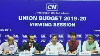 CII II Organised II Union Budget Viewing And Discussion Session