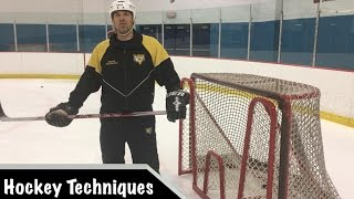 Cutting to the Middle Drill: Speed and Agility into a Shot