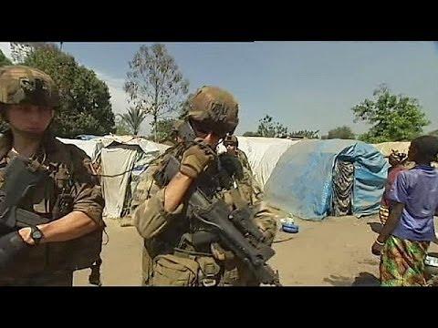 Franceses entre milícias rivais na República da África Central