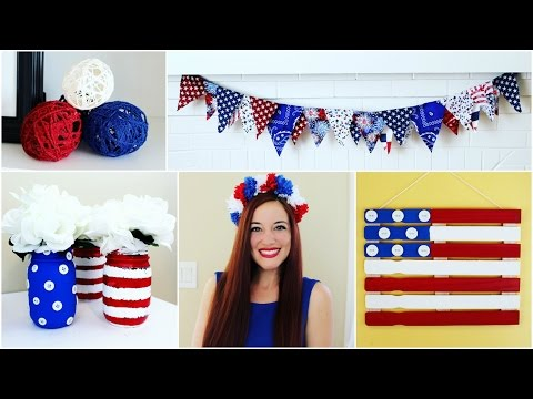 6 CHEAP & EASY 4TH OF JULY CRAFT IDEAS | PINTEREST INSPIRED