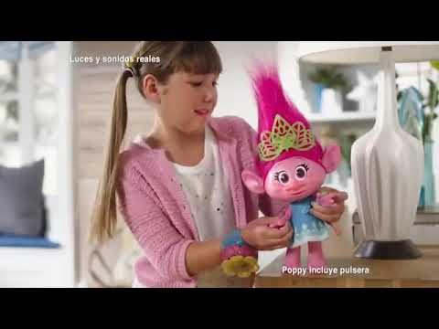 Muñeco Trolls Poppy Momento Abrazo Hasbro